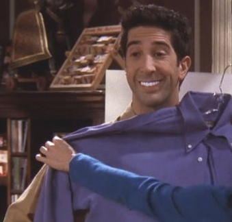 Image result for ross geller teeth