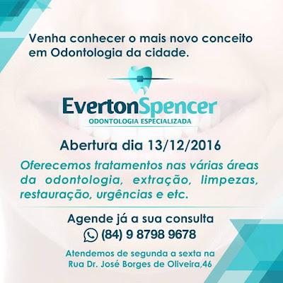 CLÍNICA DE ODONTOLOGIA EVERTON SPENCER