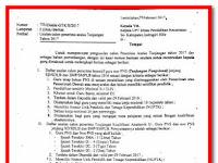 Surat Resmi Kriteria Usulan Penerima Aneka Tunjangan Non PNS Terbaru