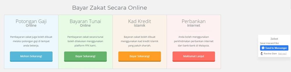 Pusat Pungutan Zakat, PPZ MAIWP, Portal zakat2u, Sistem Bayar Zakat Online, Zakat2u 4.0, Rawlins GLAM, Bayar Zakat Online, Rawlins Gadget,