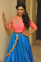 Nithya Shetty in Orange Choli at Kalamandir Foundation 7th anniversary Celebrations ~  Actress Galleries 039.JPG