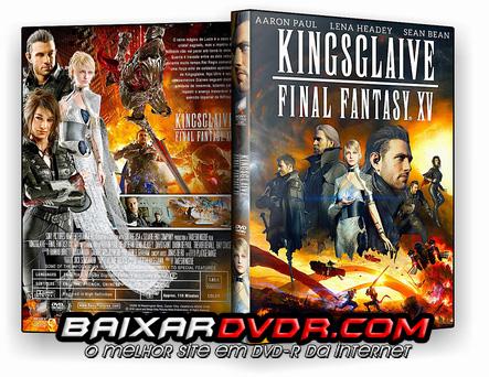 Kingsglaive: Final Fantasy XV (2016) DVD-R Oficial