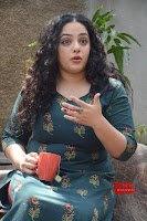 Nithya Menon promotes her latest movie in Green Tight Dress ~  Exclusive Galleries 043.jpg