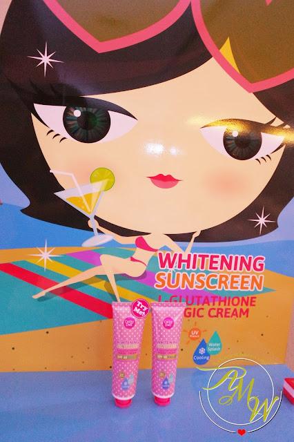 a photo of L-Glutathione Magic Cream SPF50 PA+++
