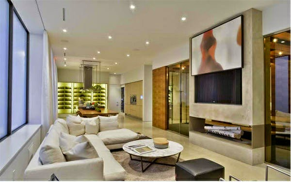 linda sala moderna