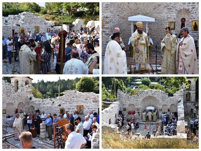 Γιάννενα: Καταδίκη του ναζισμού και κατοχικό δάνειο στο κήρυγμα του Μητροπολίτη Ιωαννίνων, στους Ασπραγγέλους