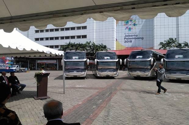 Indonesia Mulai Ekspor Bus ke Bangladesh
