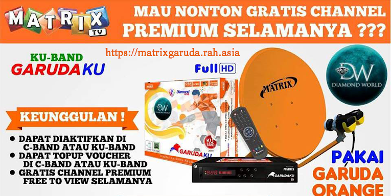Channel Gratis Matrix Garuda Orange 2019