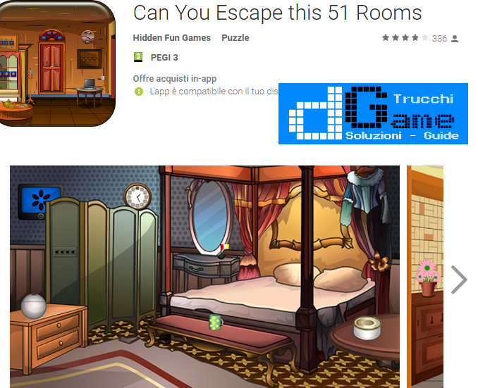 Soluzioni Can You Escape this 51 Rooms livello  1  2  3  4  5  6  7  8  9 10 | Trucchi e  Walkthrough level