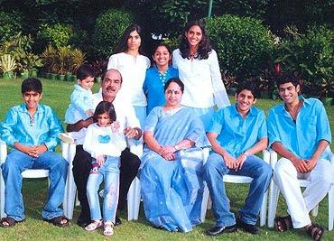 Rana Daggubati  family