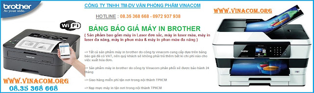 bang bao gia may in brother 2016