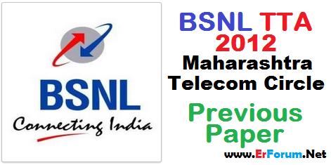 bsnl-je-2012-maharahtra