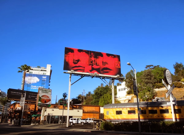 The Americans season 2 billboard Sunset Boulevard