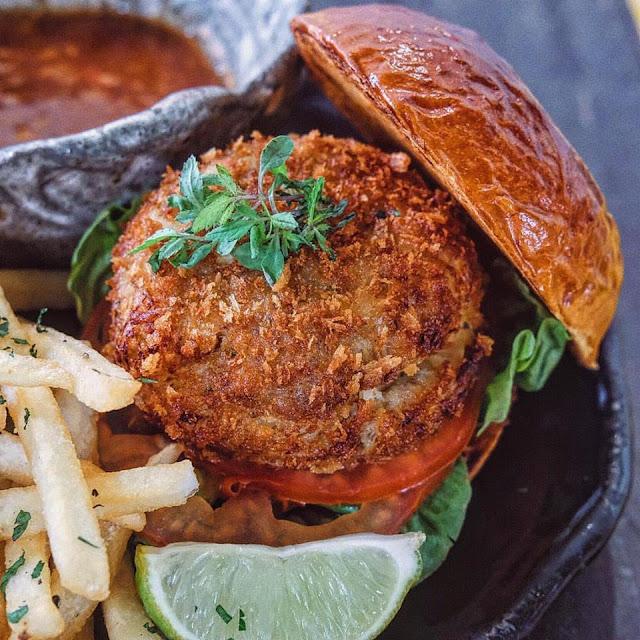 Chilli Crab Burger
