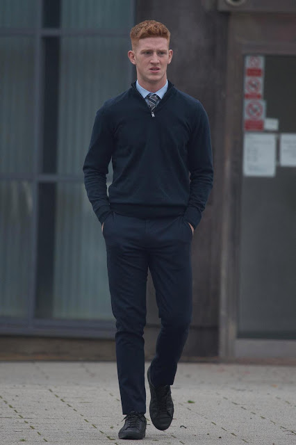 Man United Legend Paul Scholes' Son  'Laughed Hysterically' As He Beat Up A Man In A Pub  - Court