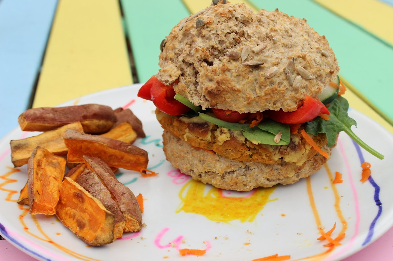 The ultimate veggie burger!