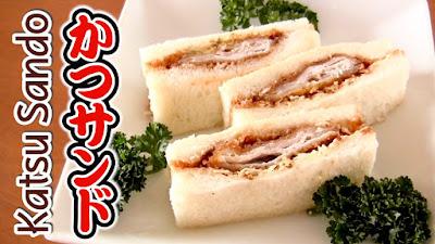 Katsu Sando Tonkatsu Sandwich