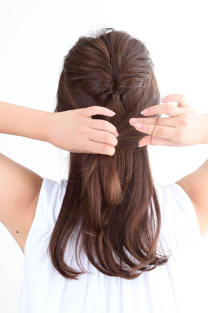 Bộ sưu tập những kiểu tóc đơn giản tuyệt đẹp chỉ trong 5 phút