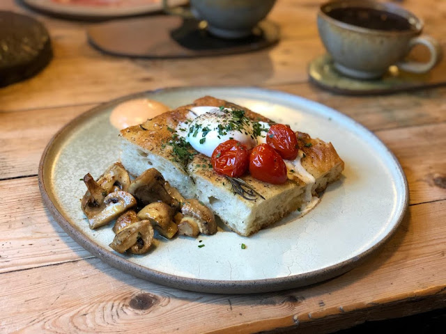 A Grown-Up Festive Weekend in Ouseburn - eggy in a basket at Kiln