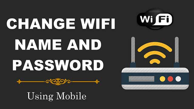 Change WiFi Name And Password Using Mobile
