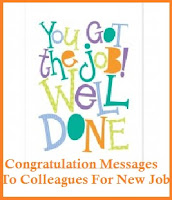 congratulation messages new job