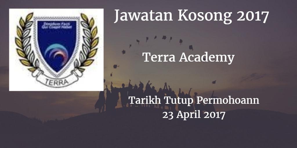 Jawatan Kosong Terra Academy 23 April 2017