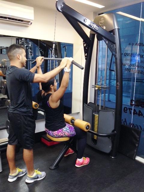 Motivação para ir além no treino dia após dia