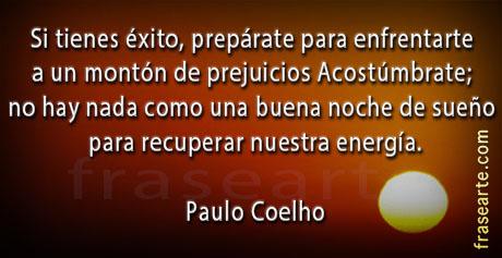 Recuperar nuestra energía - Paulo Coelho