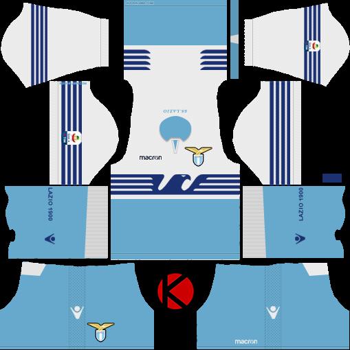 80a888579 S.S. Lazio 2018/19 Kit - Dream League Soccer Kits - Kuchalana