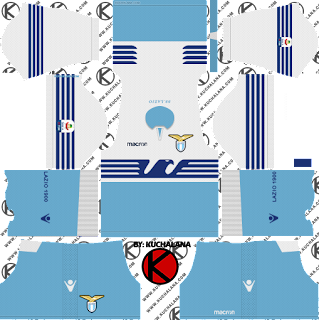 and the package includes complete with home kits Baru!!! S.S. Lazio 2018/19 Kit - Dream League Soccer Kits