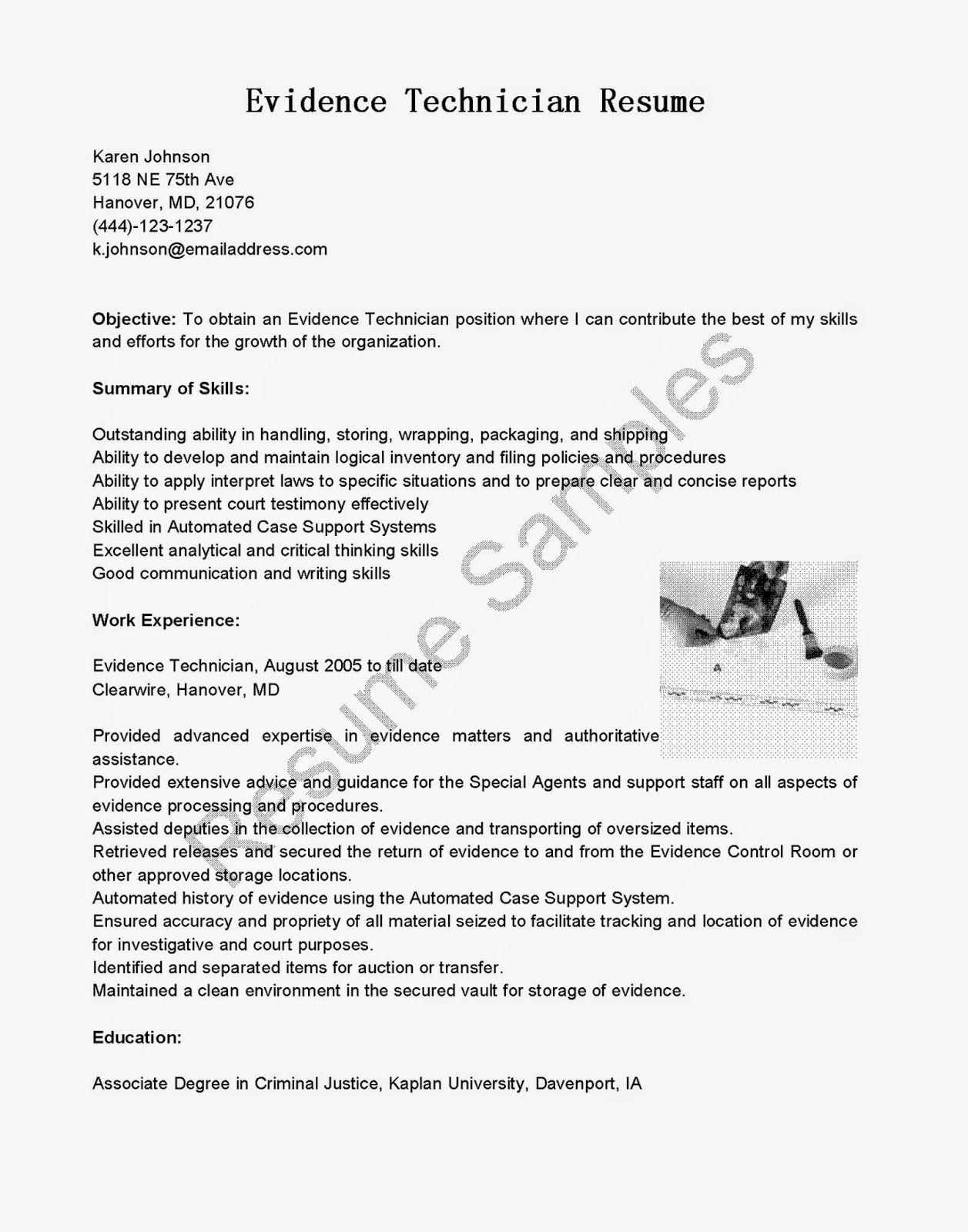 Dialysis Technician Resume. support technician resume sample of ...