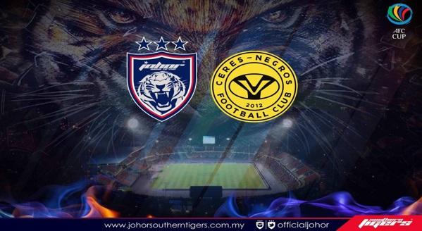 Live Streaming Ceres Negros vs Johor JDT 31 Mei