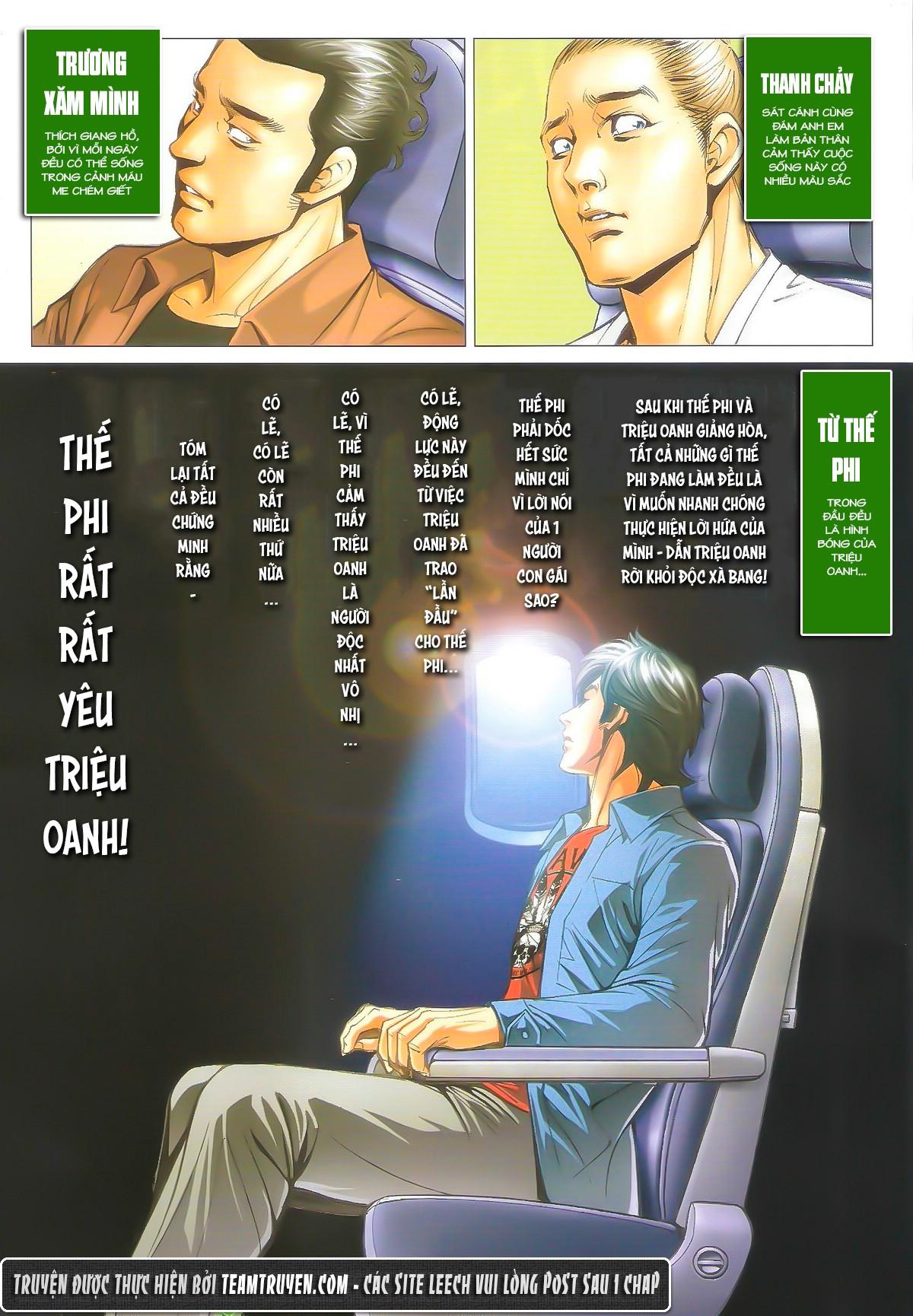 Người Trong Giang Hồ chapter 1604: hồng hưng vs trường lạc trang 12