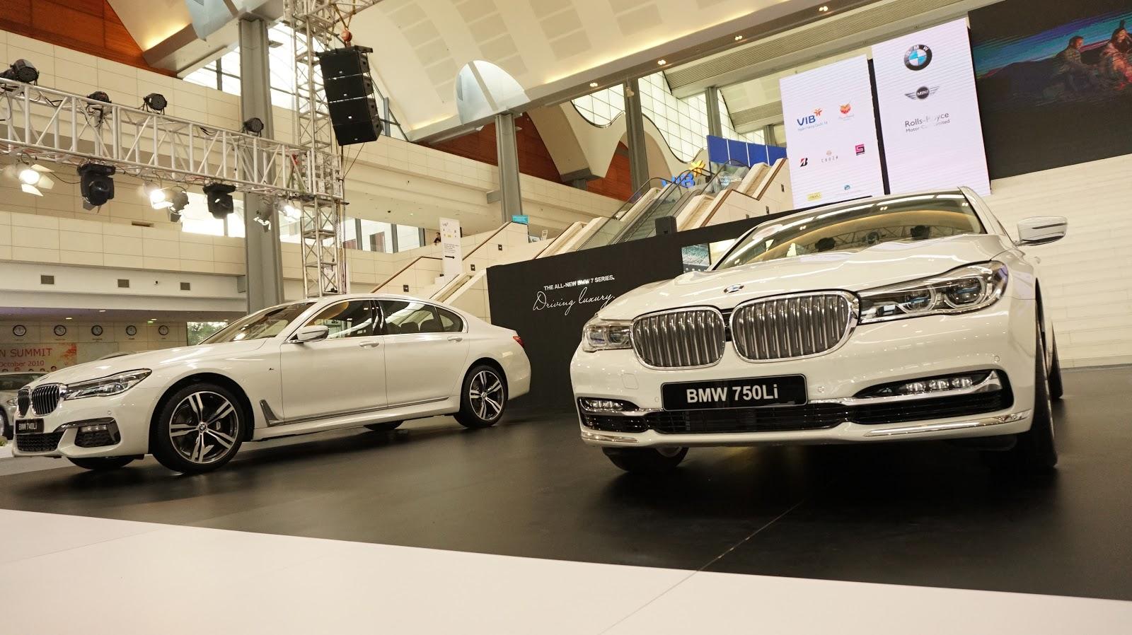 BMW 750Li & BMW 740Li là hai chiếc sedan thuộc hàng sang nhất của BMW
