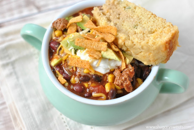 http://www.shugarysweets.com/2014/02/slow-cooker-taco-chili