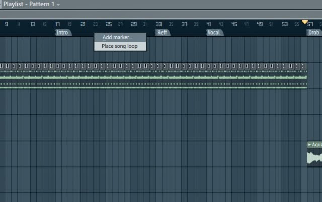 Cara membuat time maker di playlist Fl studio