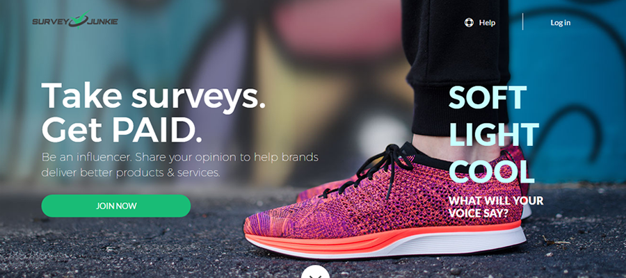 best surveys websites to make money SURVEYJUNKIE