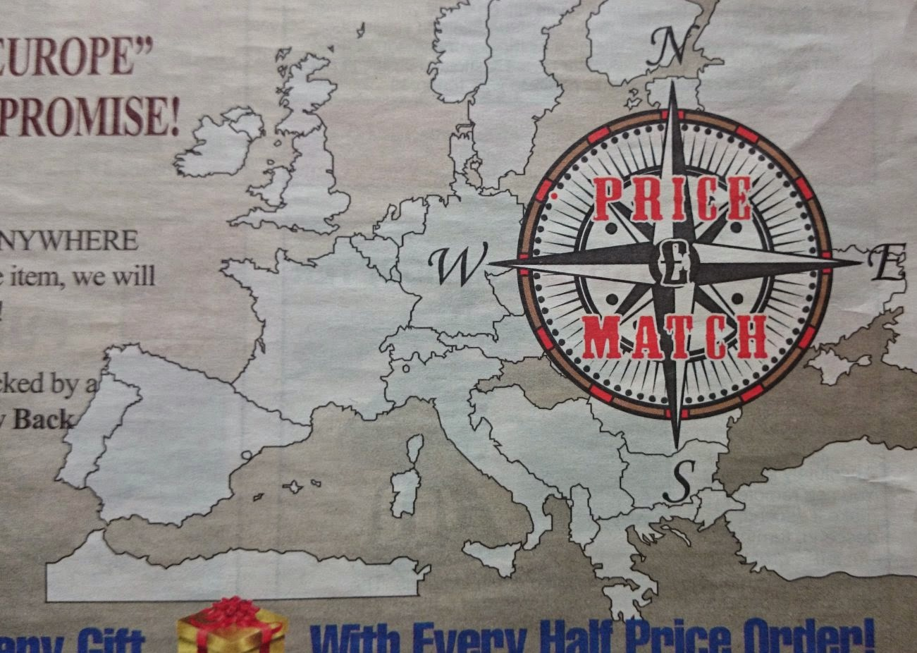 Insert crisps to continue : Epic map fail on junk catalogue