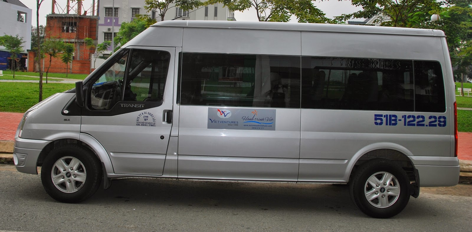 Xe Ford Transit đời 2013