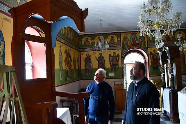 Έκλεψαν εικόνες του Χριστού από εκκλησία στα Λευκάκια Ναυπλίου (βίντεο)