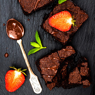 One Bowl Vegan Chocolate Brownies