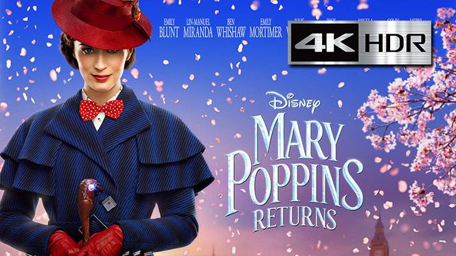 El Regreso de Mary Poppins (2018) REMUX 4K UHD [HDR] Latino-Ingles