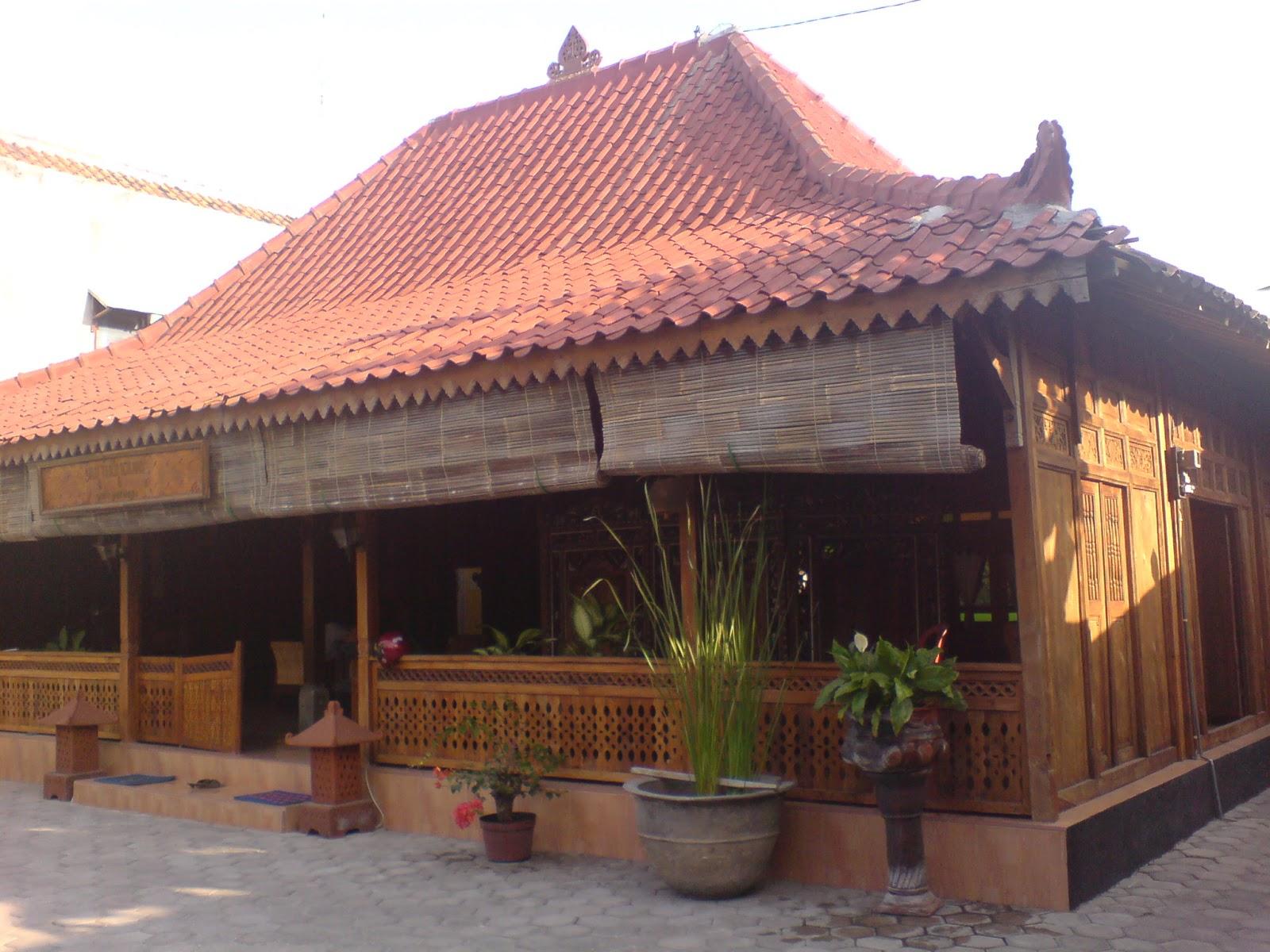 Contoh Desain Rumah Joglo Sederhana Konsep Klasik