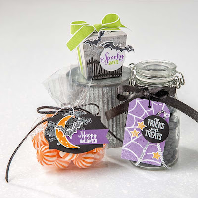 Stampin' Up! Spooky Sweets ~ 2018 Holiday Catalog ~ 9 Halloween Sweet Treat Ideas