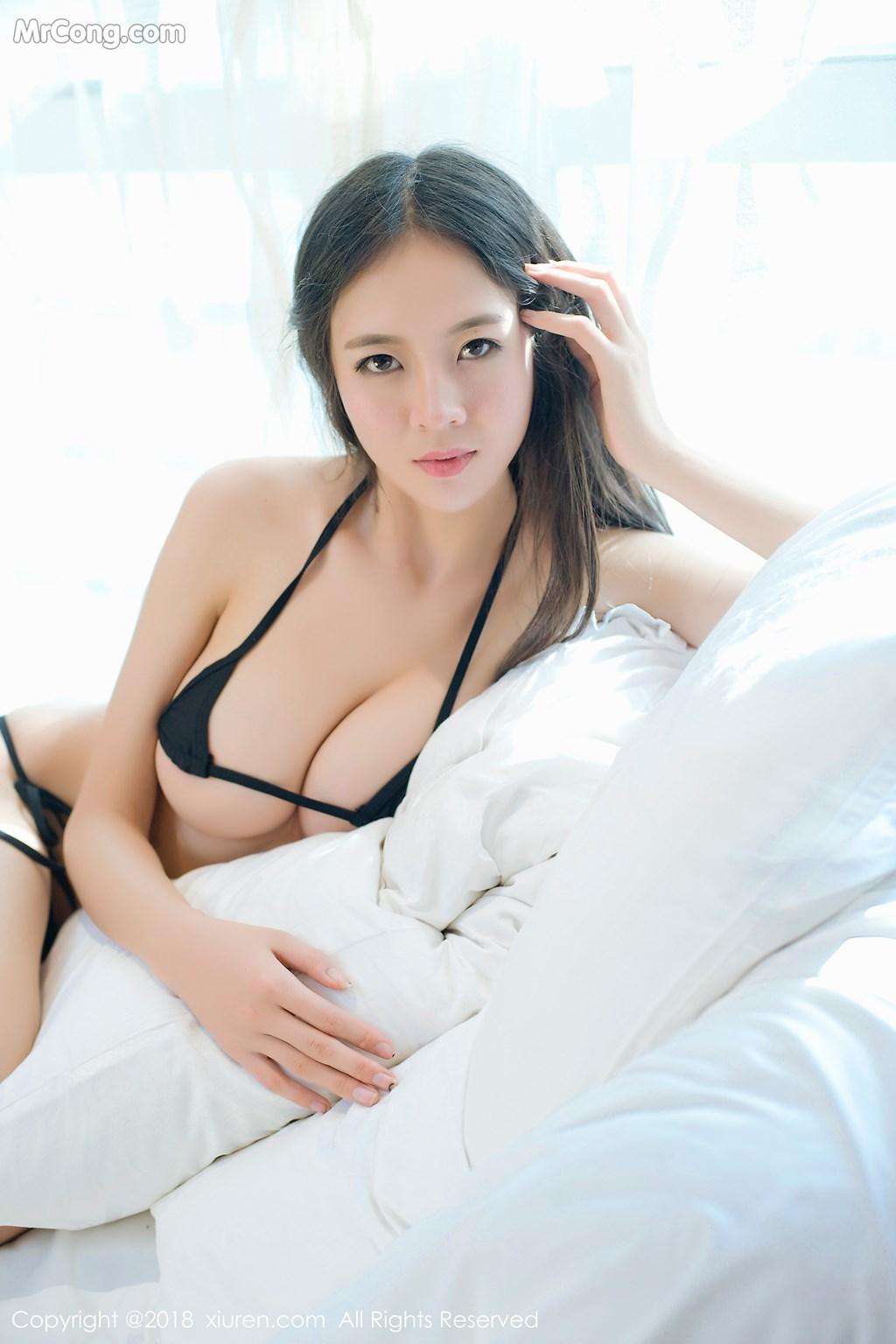 Image XIUREN-No.1003-Mote-Yue-Yue-MrCong.com-006 in post XIUREN No.1003: Người mẫu Mote Yue Yue (模特悦悦) (46 ảnh)