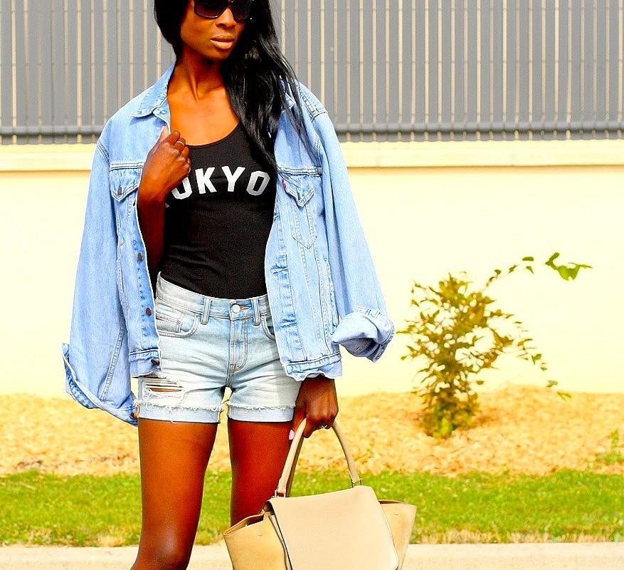 veste-jeans-vintage-short-taille-haute-blog-mode