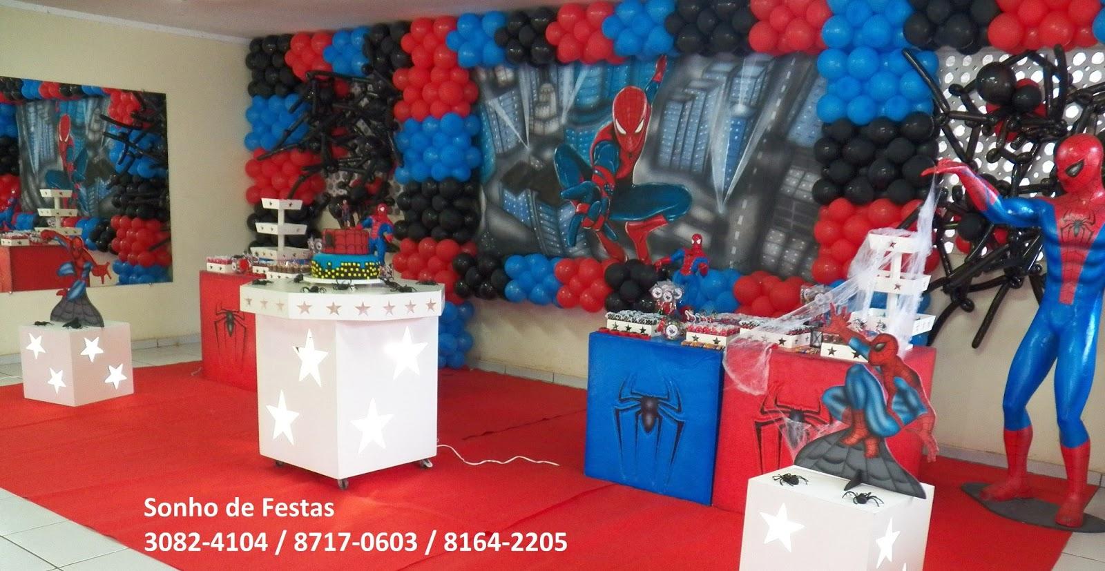 Sonho De Festas Festa Provencal Homem Aranha