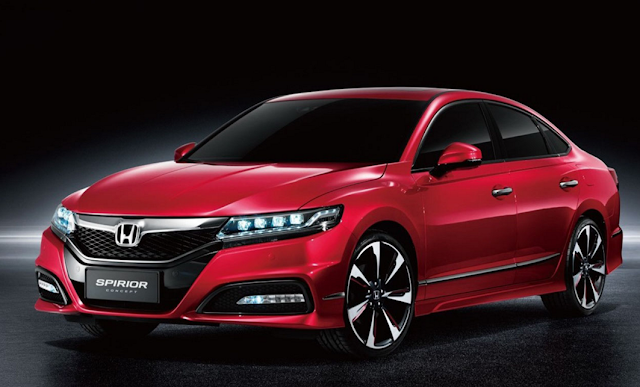 2017 Honda Accord Coupe Spirior