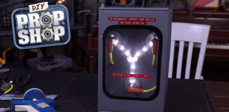 Here's How To Build Your Own 'Back To The Future' Flux Capacitor For