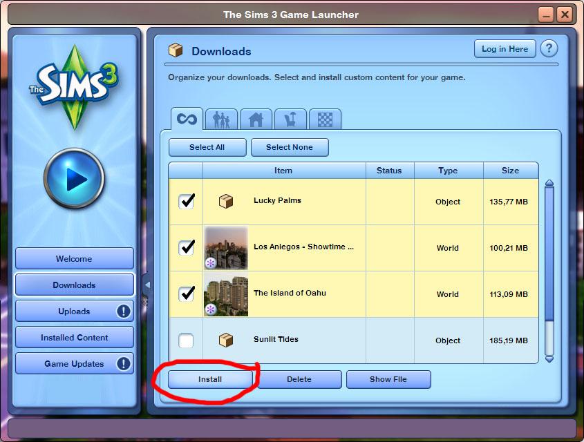 Plumbob News: Cara Install Custom Content dan Mod The Sims 3